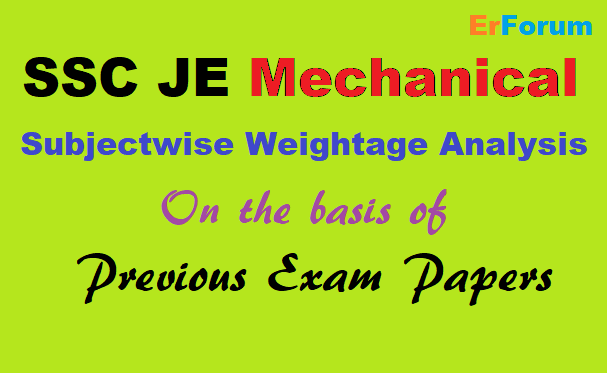 ssc-je-mechanical-subject-priority