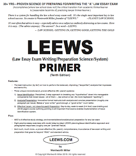 LSAT Blog LEEWS Primer 10th Edition PDF