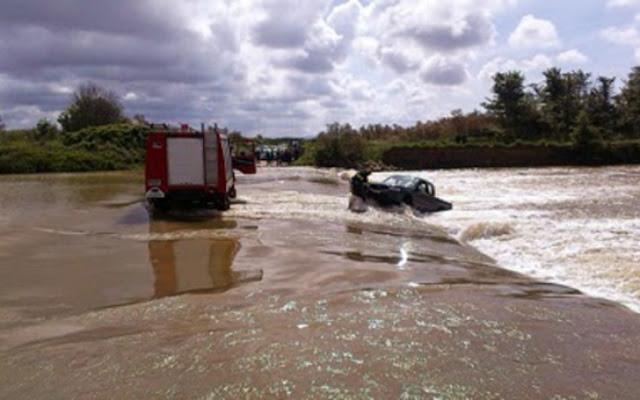 Νεκρός στην Κορινθία από ορμητικά νερά χειμάρρου - Υπερχείλισαν ποτάμια, πλημμύρισαν σπίτια