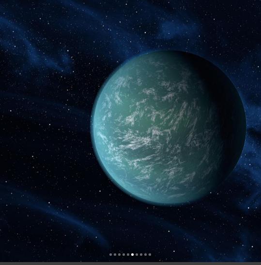 معلومات عن الكواكب السبعة