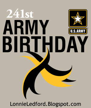 The 241st United States Army Birthday
