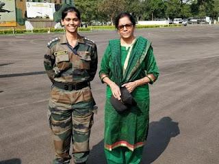Nirmala daughter fake photo