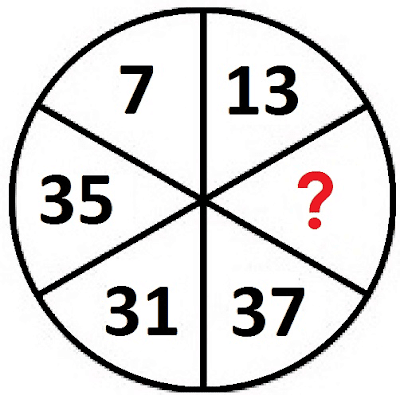 Missing Number Circle Puzzle