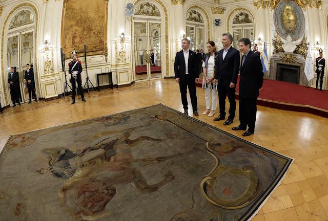 El presidente Macri recibió al embajador de Francia Pierre Henri Guignard