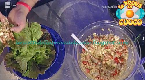 Cous cous estivo di ceci mais e riso ricetta Barzetti da Prova del Cuoco