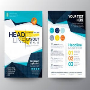 How build kiss dollar with business flyer template?