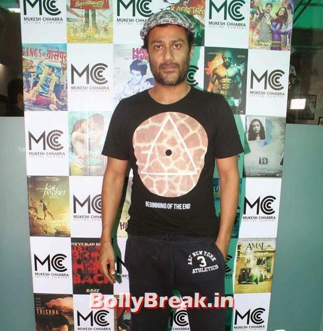 Abhishek Kapoor, Shradha  & Aditi at Mukesh Chhabra Casting Studio Launch