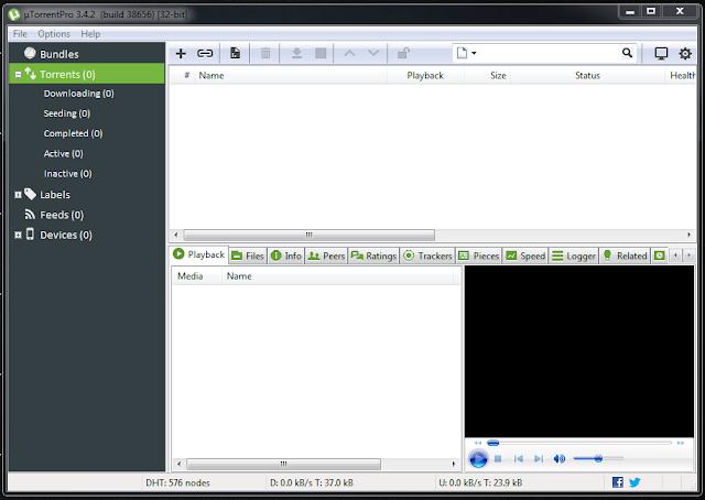 uTorrent Pro 3.5.0 Build 43580 || setup+crack| 2017 تحميل برنامج