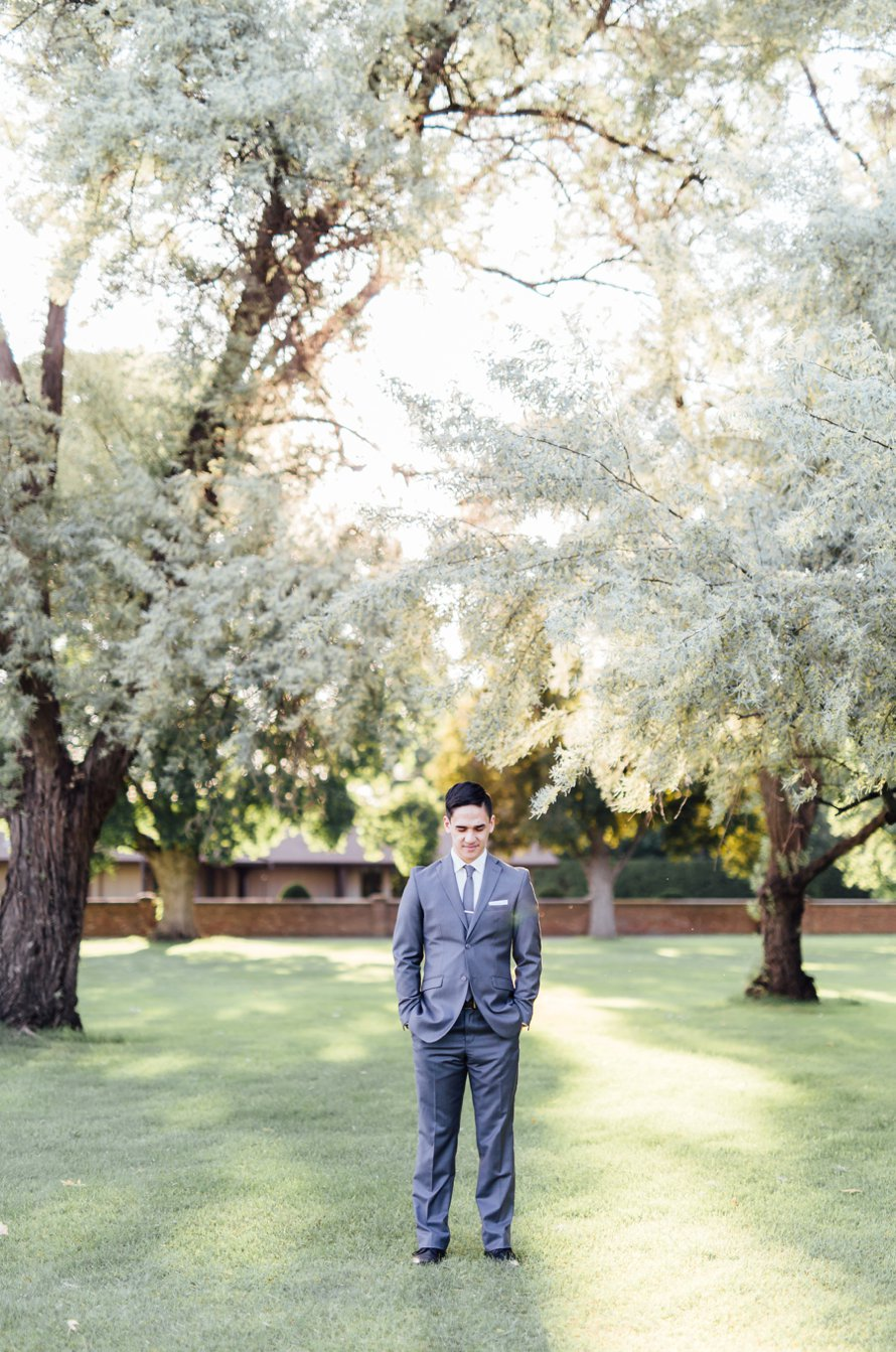 First Look from Seattle Wedding Photographer Something Minted