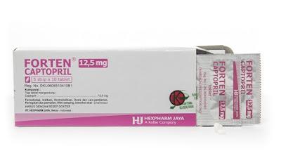 Forten - Manfaat, Efek Samping, Dosis dan Harga