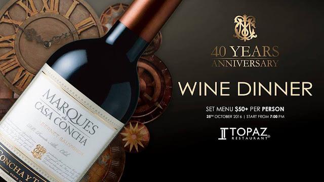 Quarantième anniversaire des vins Marques de Casa Concha