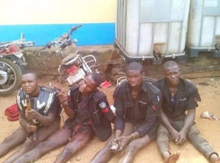 ARMED Robbers In Police Uniform ARRESTED