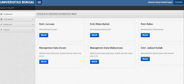 download Source Code Aplikasi Absensi dengan PHP Mysql