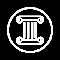 The culture icon: a Greek Style column in a circle