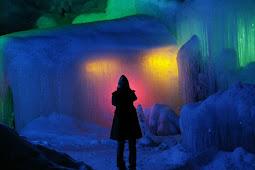 氷点下の森氷祭り・秋神温泉