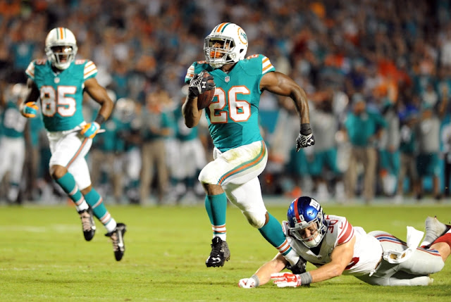 NFL: Miami Dolphins jogando