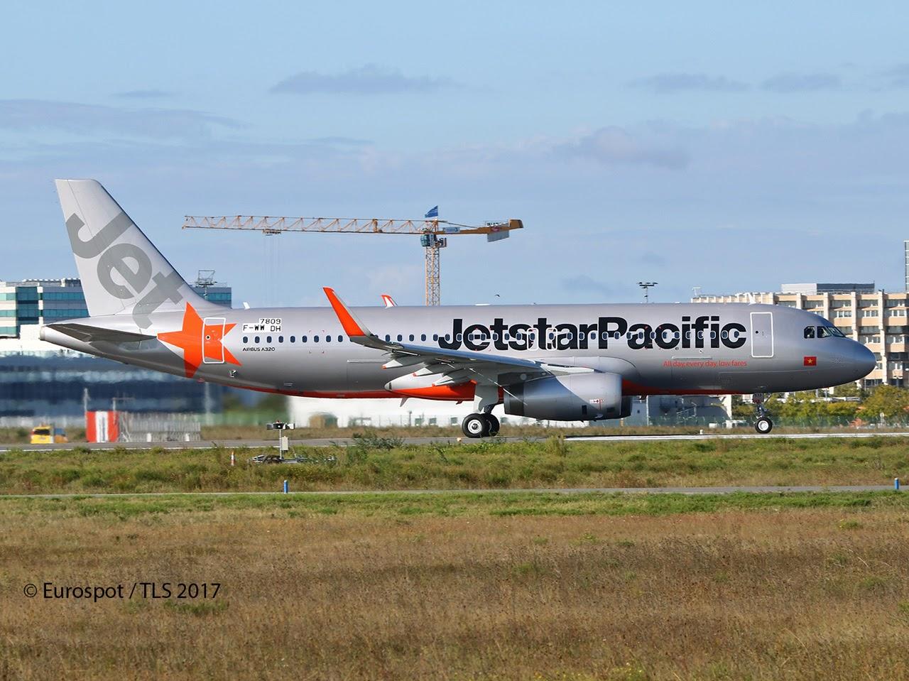 Airbus hamburg finkenwerder news a320 232sl jetstar pacific a320 232sl jetstar pacific airlines f wwdh vn a573 msn 7809 sciox Images
