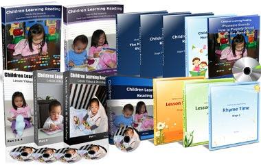 Children Learning Reading Program, children's learning reading books