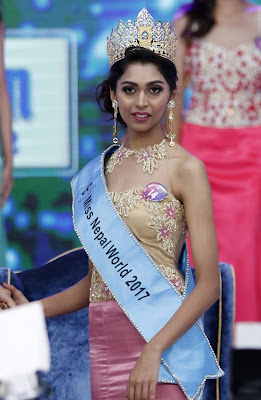 Miss Nepal 2017 Nikita Chandak