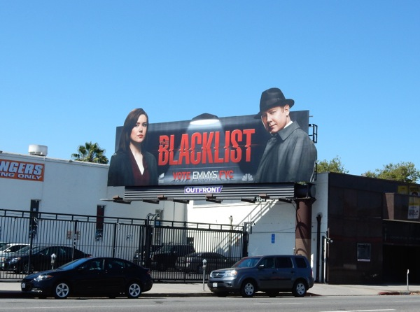 The Blacklist 2015 Emmy billboard