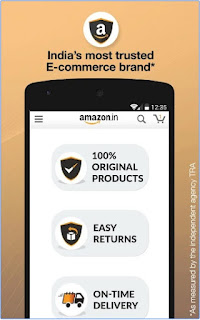 Amazon India Online Shopping apk most trusted e-commerce brand