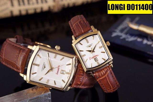 Đồng hồ dây da Longines Đ011400