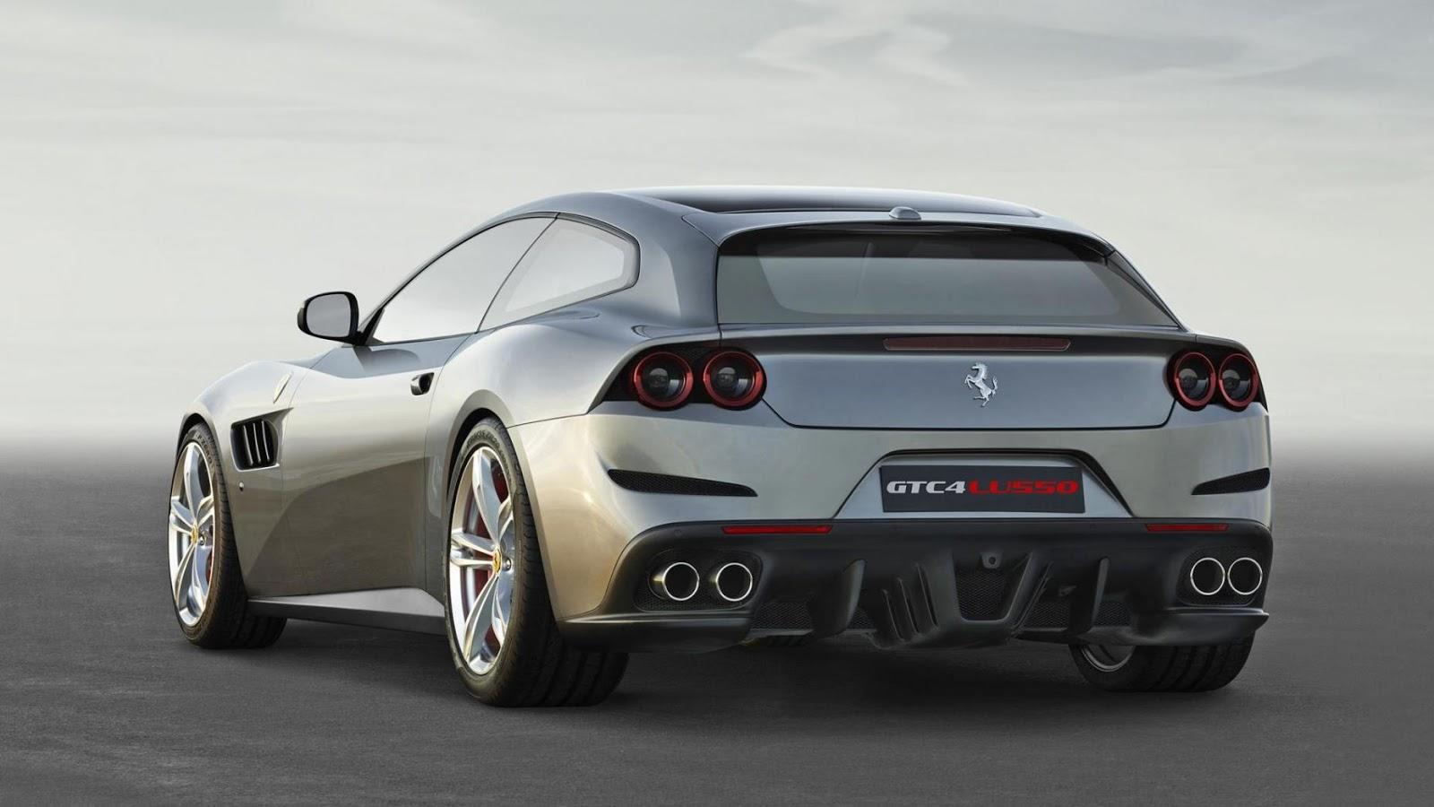 Ferrari GTC4Lusso - tăng tốc từ 0 - 100 km/h trong 3.4secs