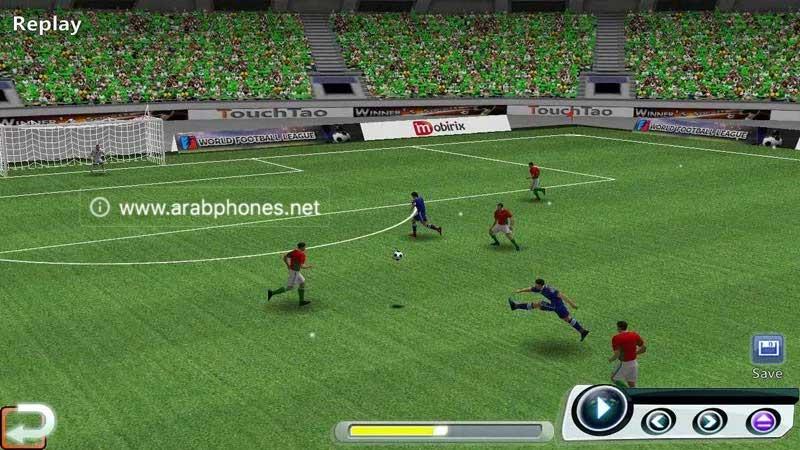 تحميل لعبة World Soccer League مهكرة مجانا للاندرويد