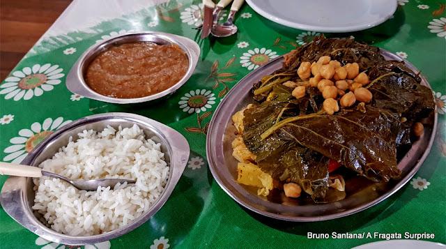 Cozido do restaurante Mini Cacique, no Centro Antigo de Salvador