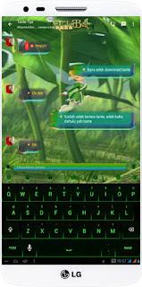 BBM TINKERBEL VERSI v2.13.0.26 Apk