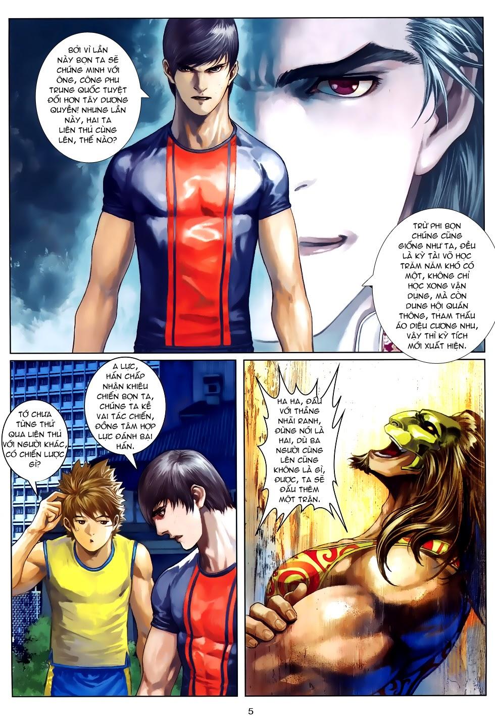 Quyền Đạo chapter 10 trang 5