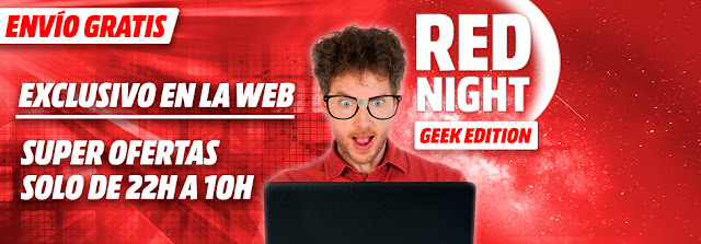 Mejores ofertas de la Red Night Geek Edition de Media Markt 12 febrero 2018