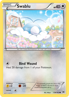 Swablu BREAKthrough Pokemon Card