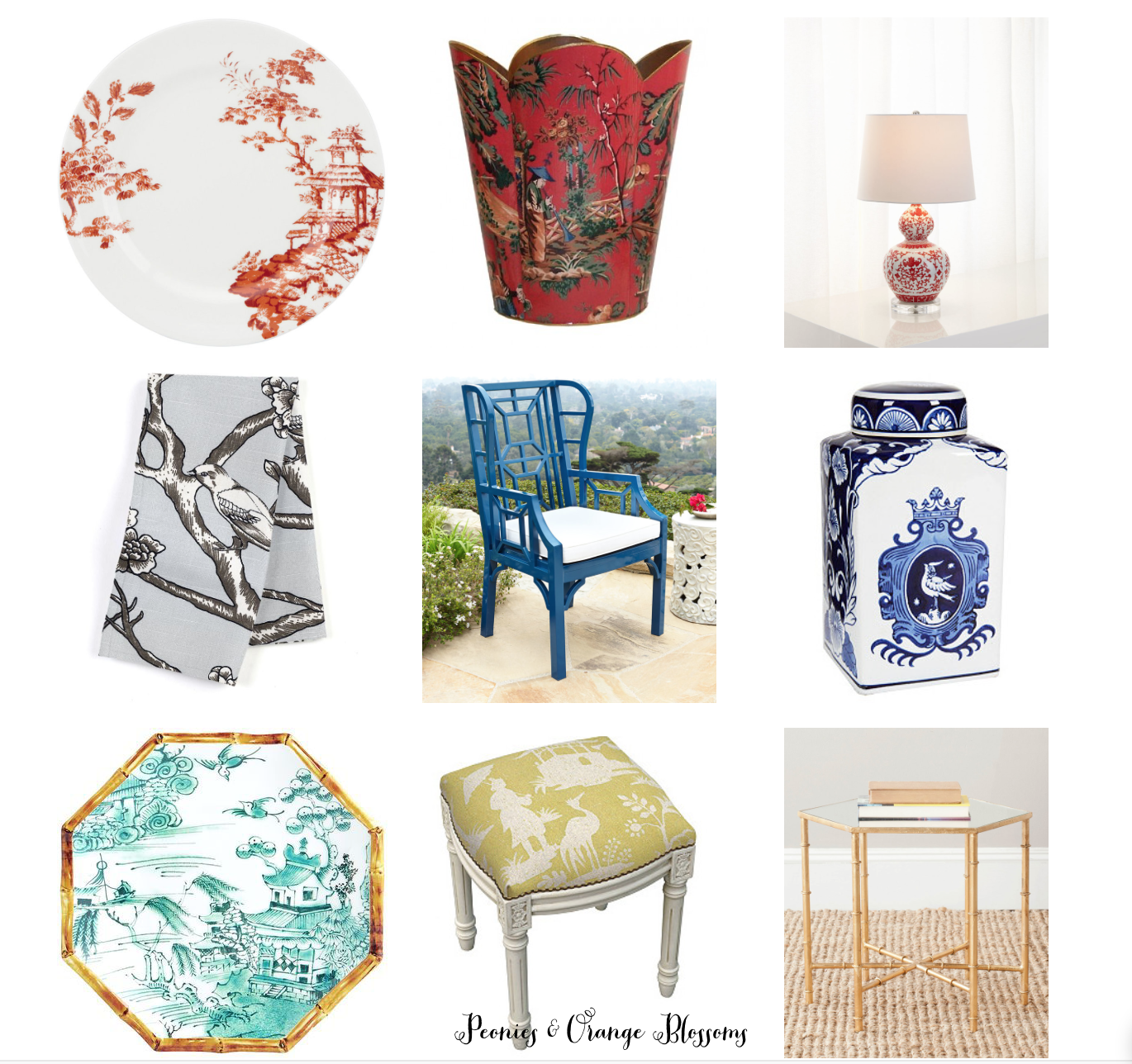 Chinoiserie Decor For Your Home!