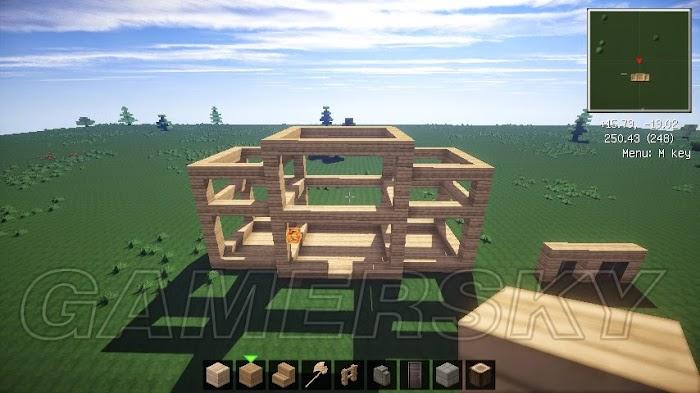 當個創世神 (Minecraft) 簡易別墅建築圖文教學   娛樂計程車