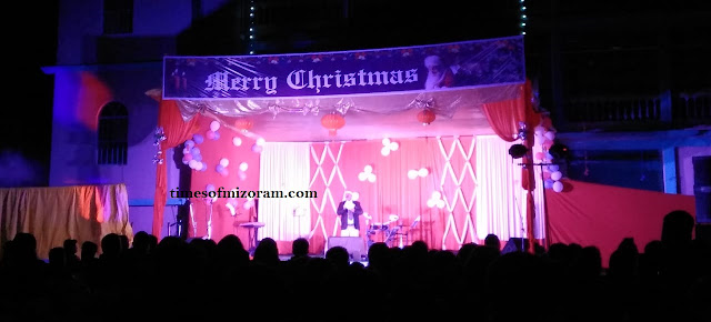 Silchar Mission Compound Christmas