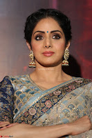 Sri Devi in designer saree stunning beauty at the launch of MOM movie Trailer~  Exclusive 093.JPG