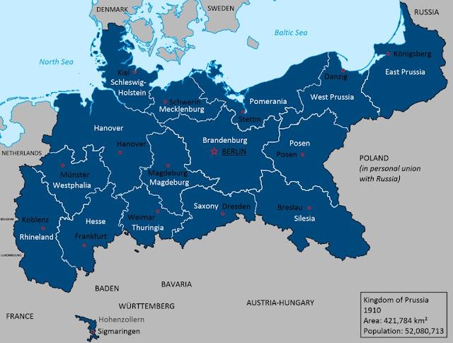 Harta e prusisë