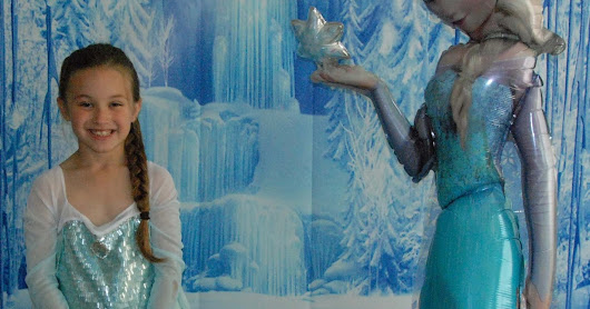Elsa Frozen 7th Birthday Party