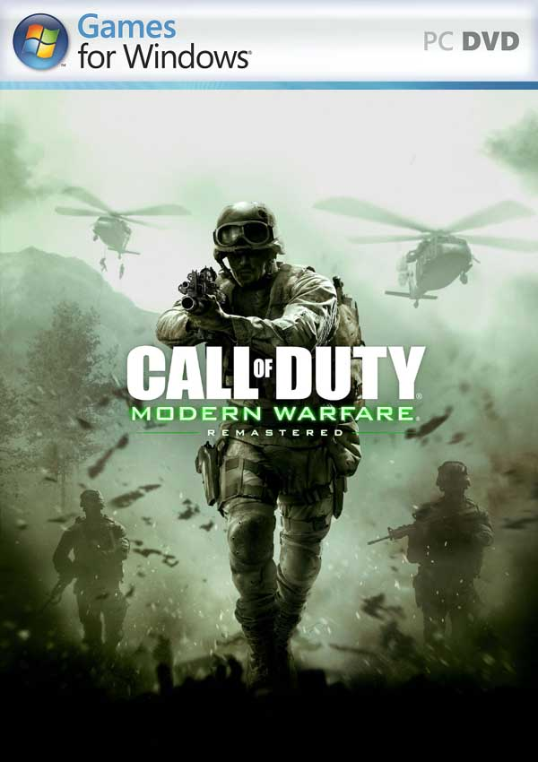 Call of Duty Modern Warfare Remastered Download Cover Free Game