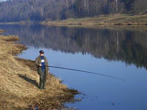 Рыбалка апрель