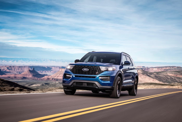 2020 Ford Explorer ST Crossover