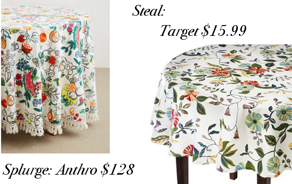 anthropologie fruit vine tablecloth target vine table cloth