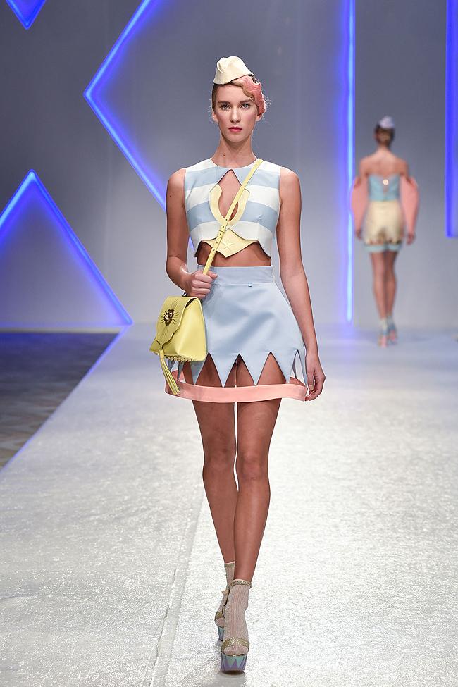 Ana Ljubinković, Belgrade fashionweek, SS17
