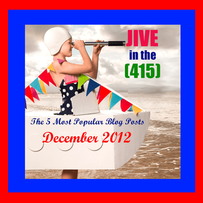 The Jive in the [415] top 5 most popular blog posts of December 2012.