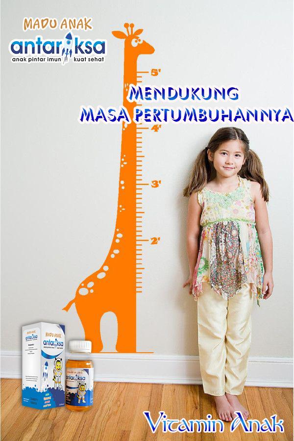 Vitamin Anak Untuk Masa Pertumbuhan Madu Antariksa