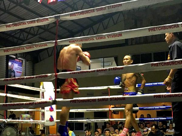 koh samui, thaiboxning, match, matcher, thailand, muaythai,