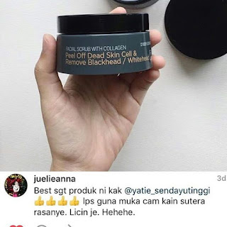 Facial Scrub Collagen Sendayu Tinggi