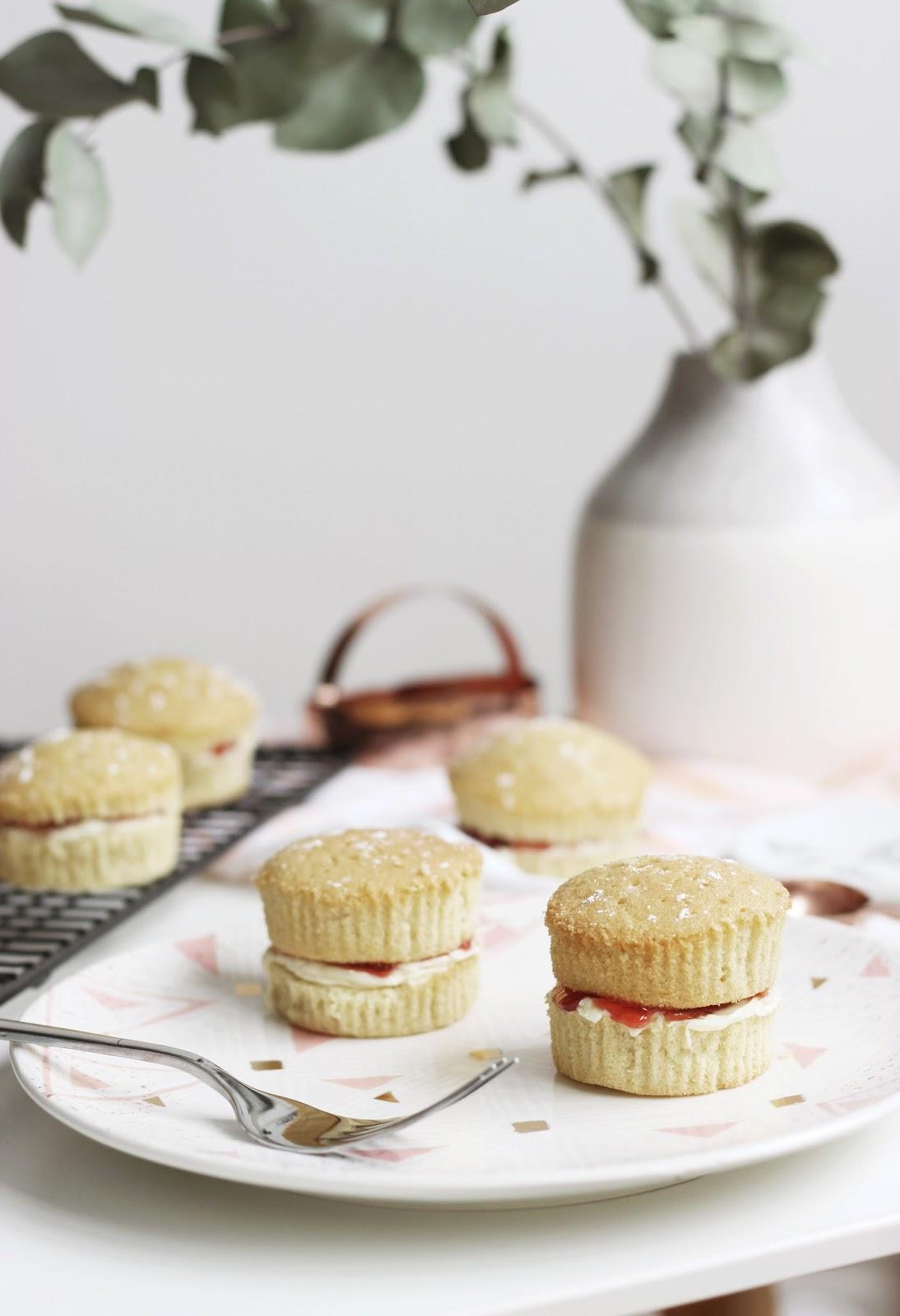 Mini Victoria Sponge Recipe