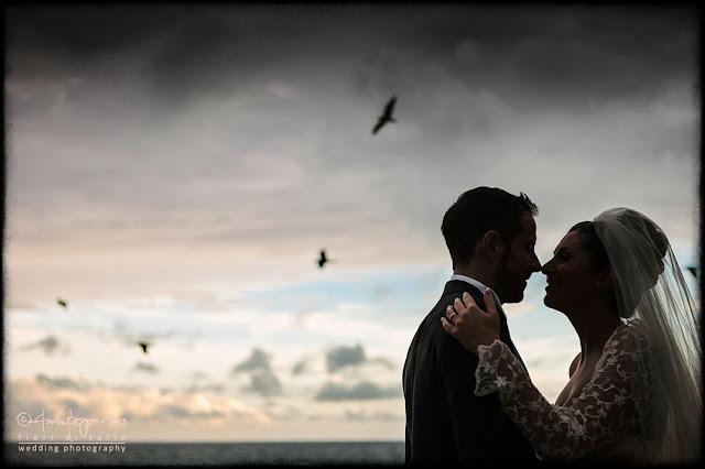 foto matrimonio mare Celle Ligure